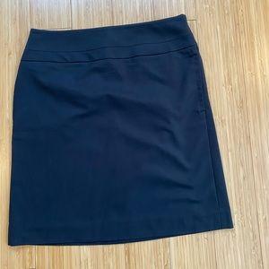 Black Ann Taylor Loft Skirt